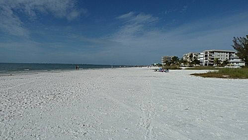 Strand von Fort Myers Beach