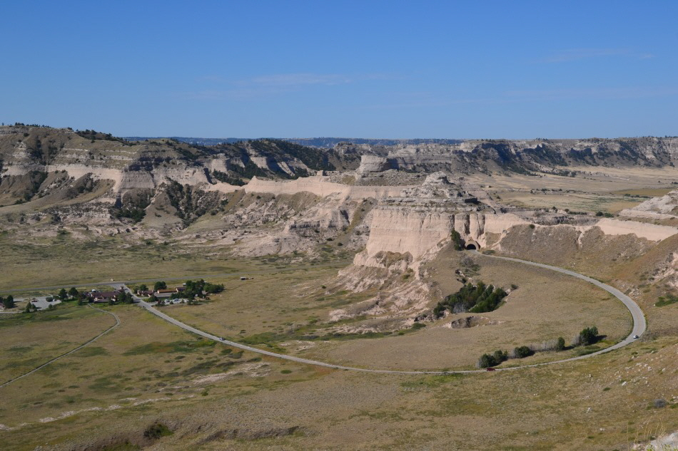 Visitor Center Scottsbluff National Monument