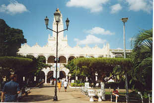 Der Palacio Municipal in Merida
